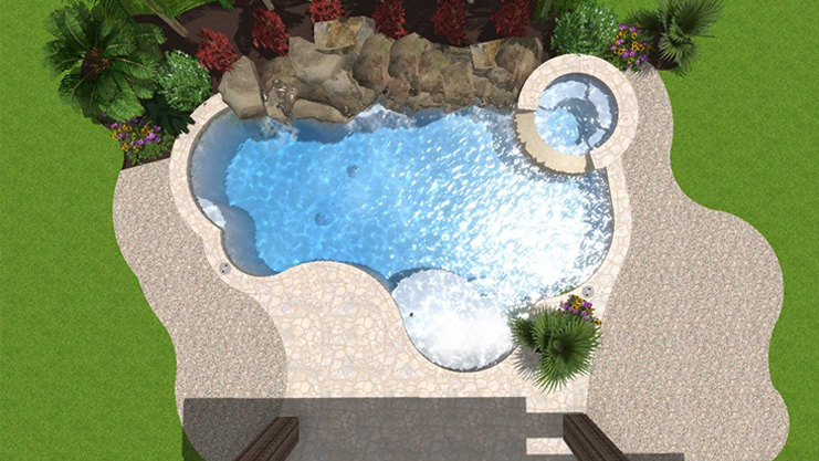 Design Your Swimming Pool, Backyard Pool Paradise - Katy, Richmond ...