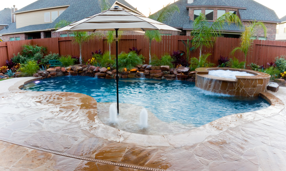 pool spa styles lagoon pools - Lagoon Swimming Pool Designs